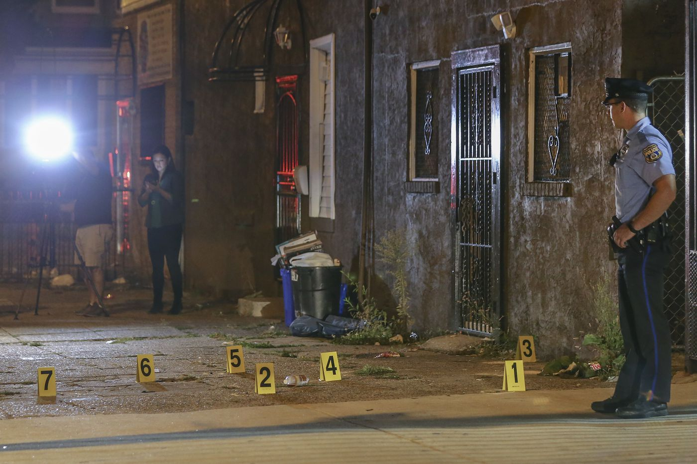 Shots fired at police officer in Southwest Philly
