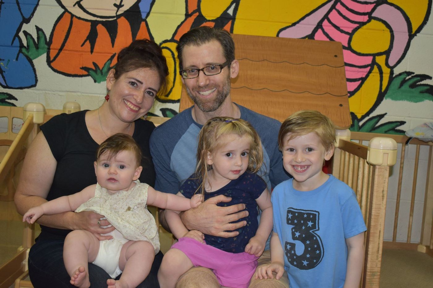 The Parent Trip: Hillary Lebowitz Linehan and Seth Linehan, of Huntingdon Valley