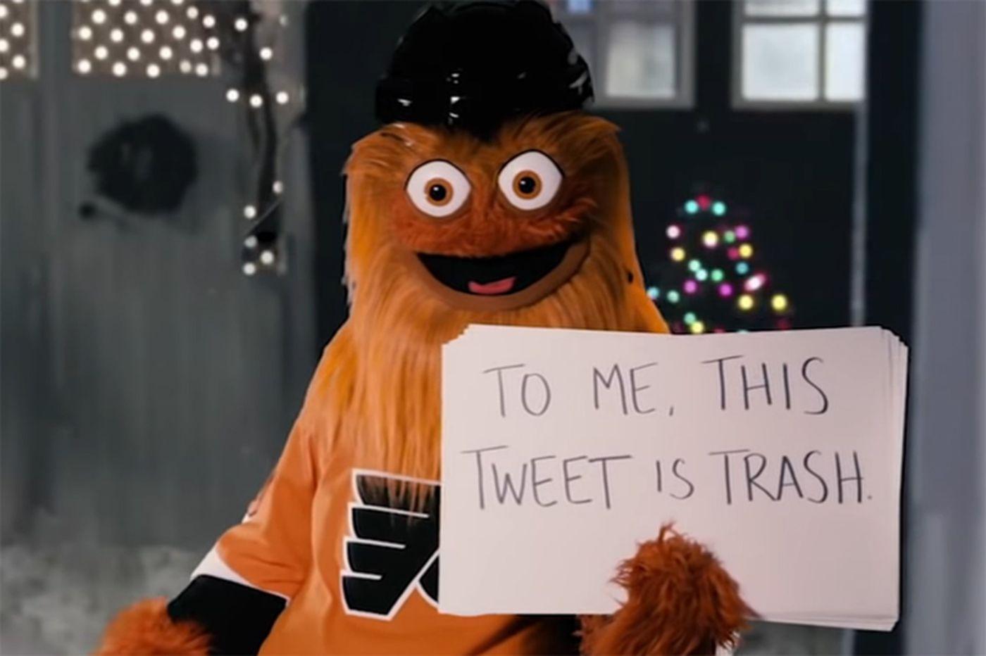 Gritty mansplains to ESPN's Katie Nolan in 'Love Actually' parody
