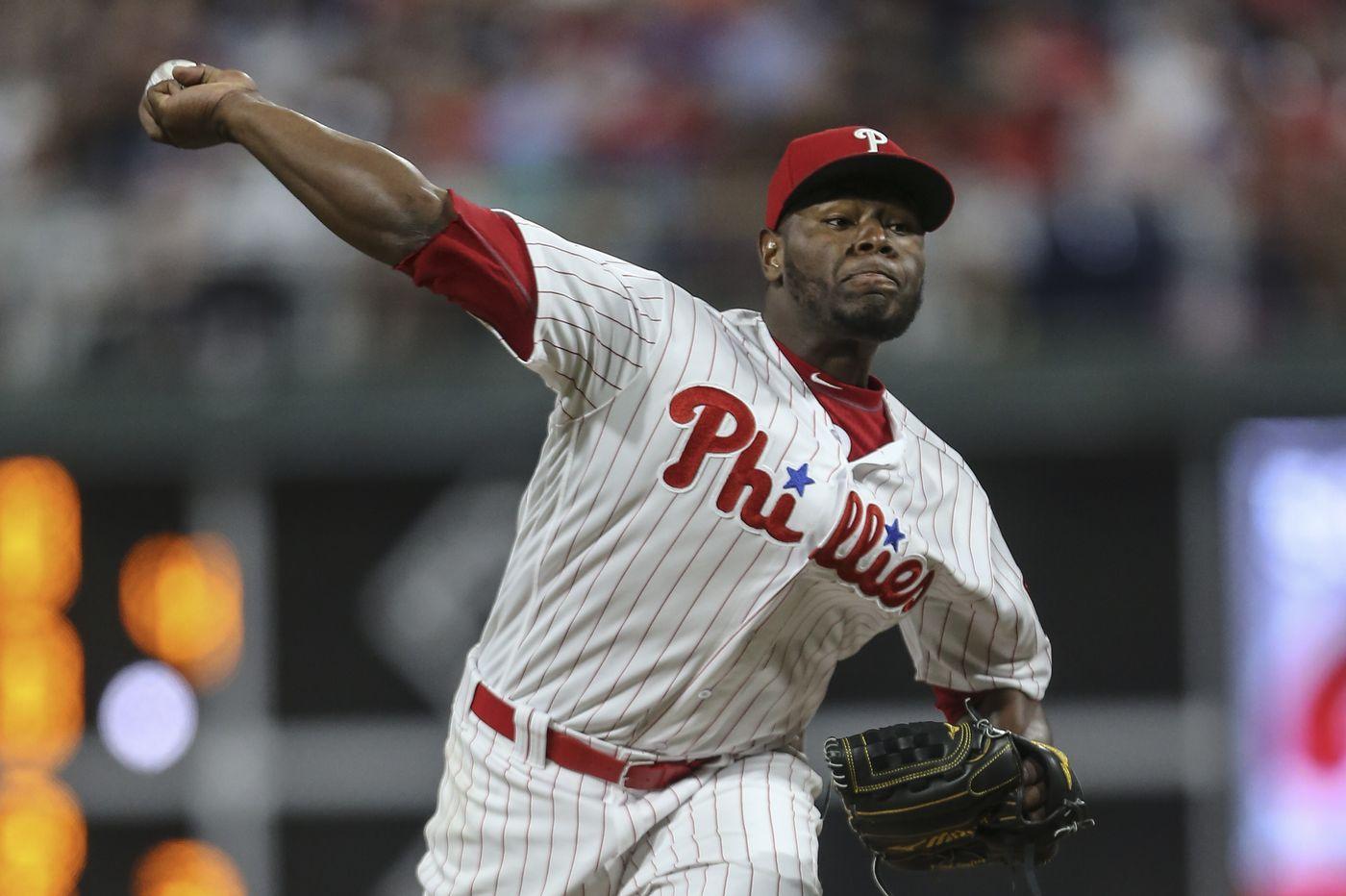 Hector Neris returns to Phillies' bullpen with confident splitter