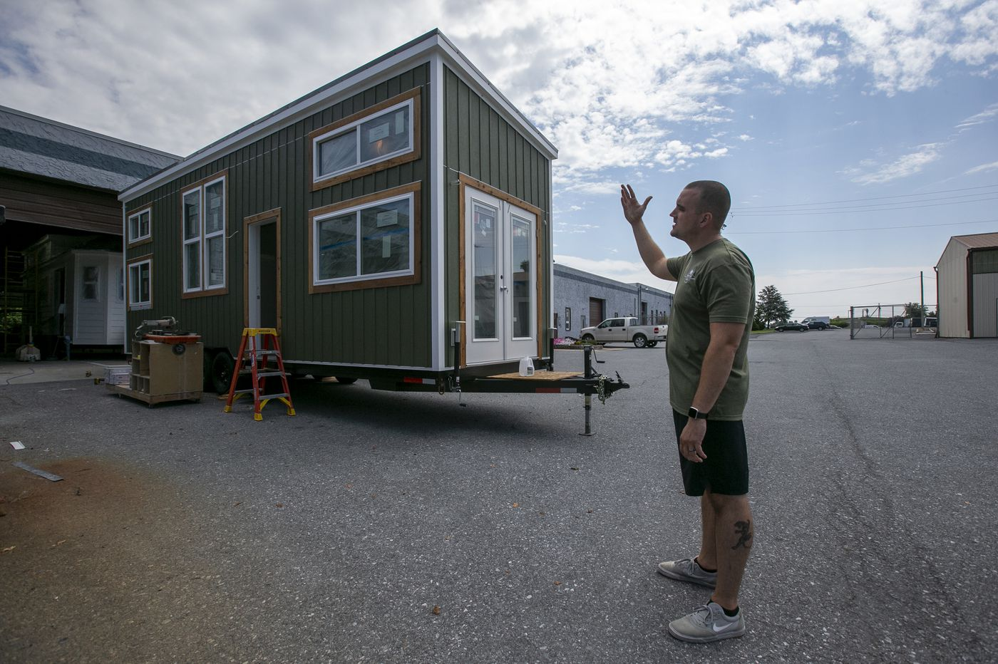 Tiny homes made in Amish country could soon house Philly's homeless