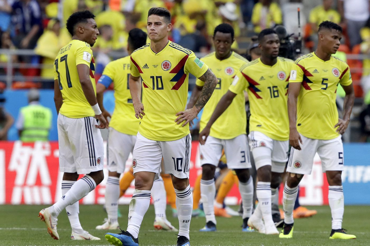 England-Panama, Japan-Senegal, Poland-Colombia make up the World Cup schedule for June 24