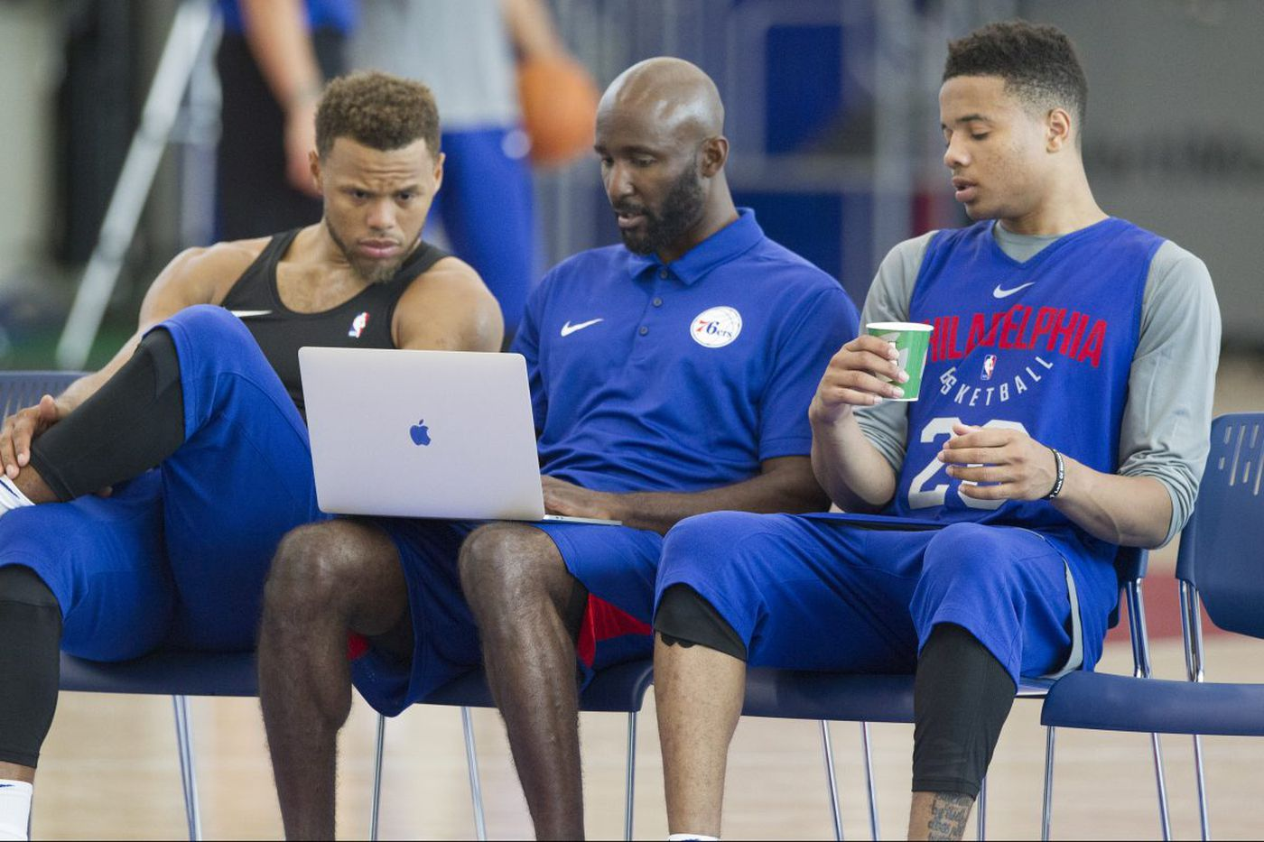 Sixers assistant Lloyd Pierce upbeat about chances to become Atlanta Hawks head coach