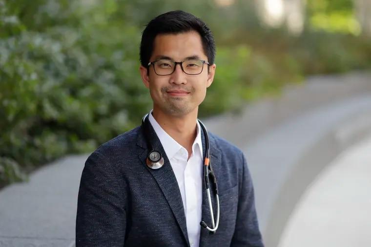 Jason Han is a cardiothoracic resident at a Philadelphia hospital.