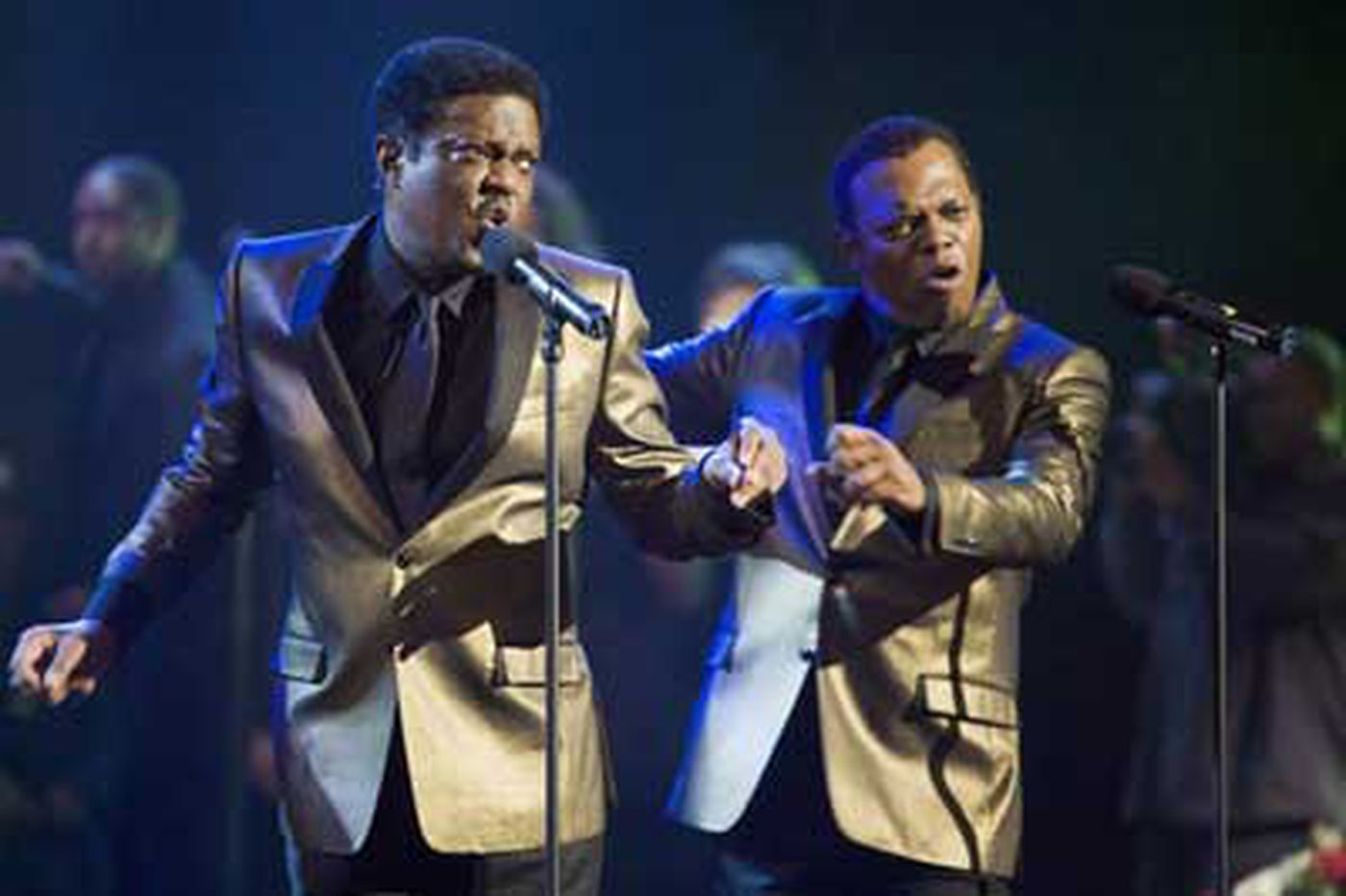Soul Men' can't stay in the groove