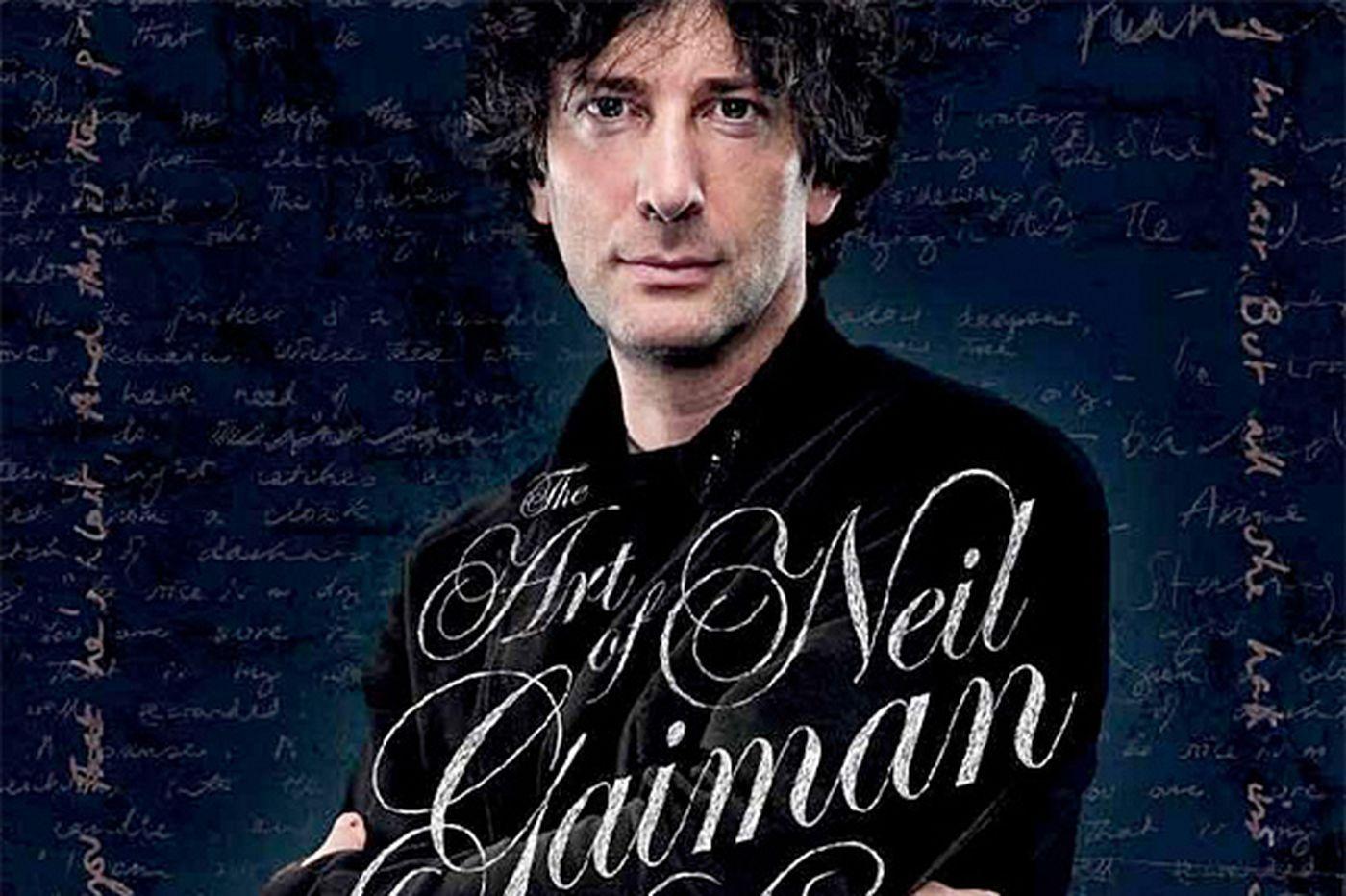 Writer Neil Gaiman: An imagination always at work