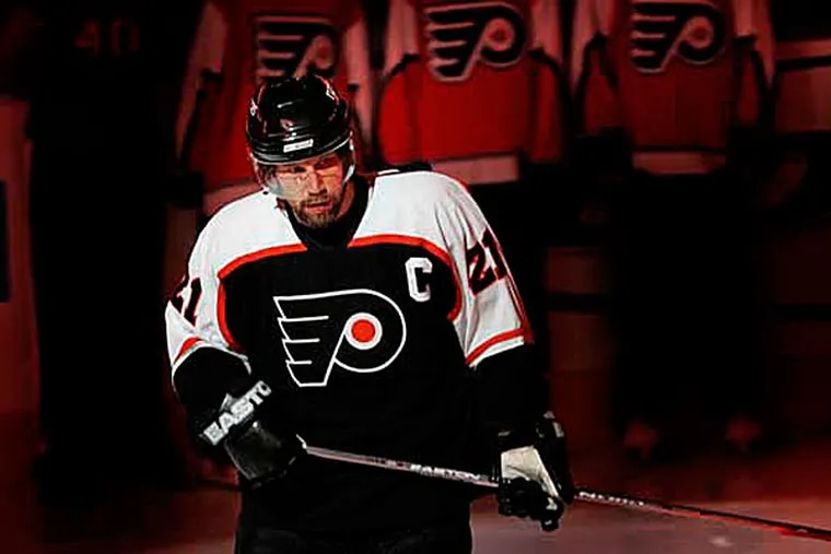 Former Flyers captain Peter Forsberg. (Ron Cortes/Staff file photo)
