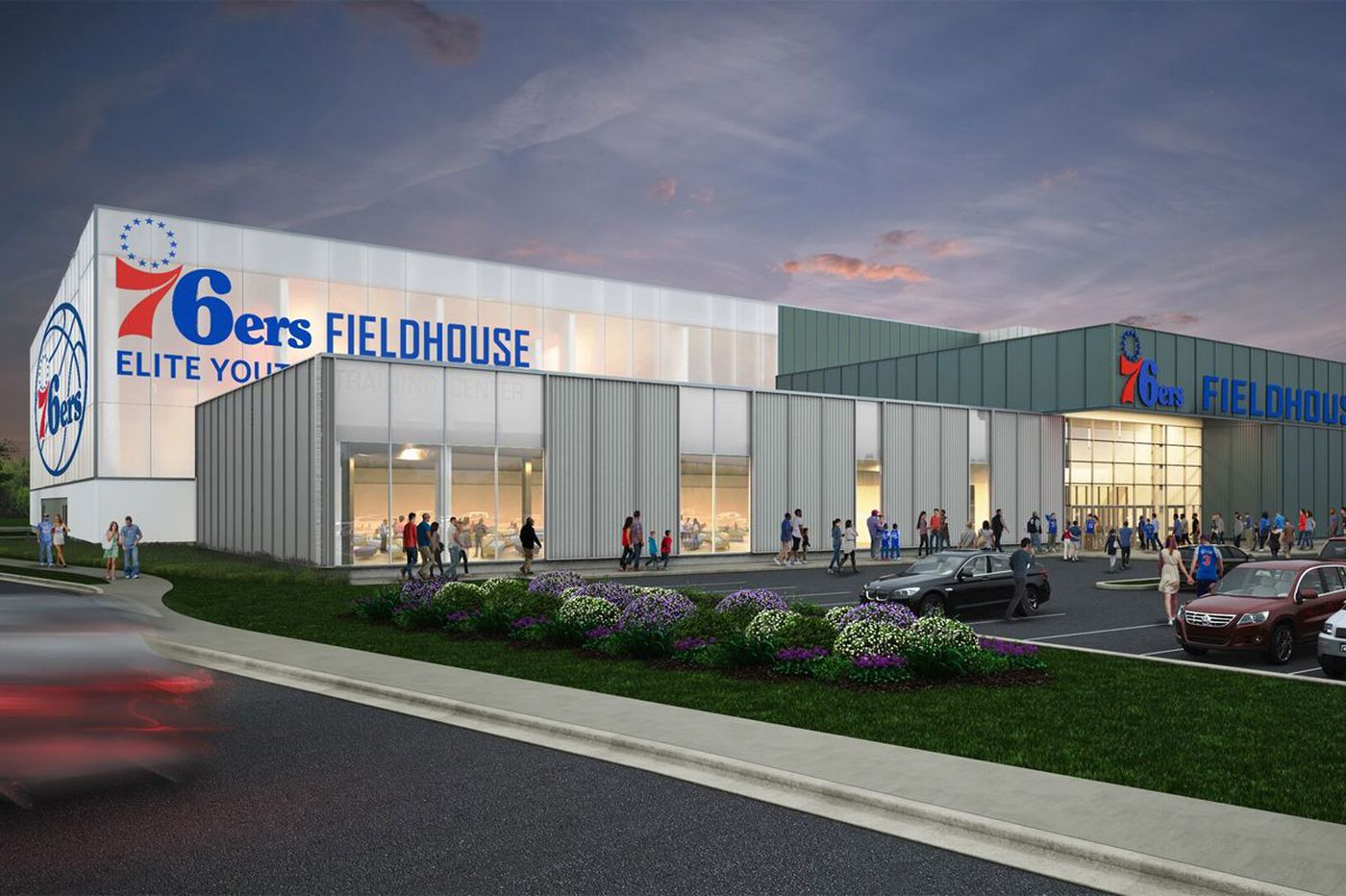 Sixers rename G-League team as work continues on new sports complex
