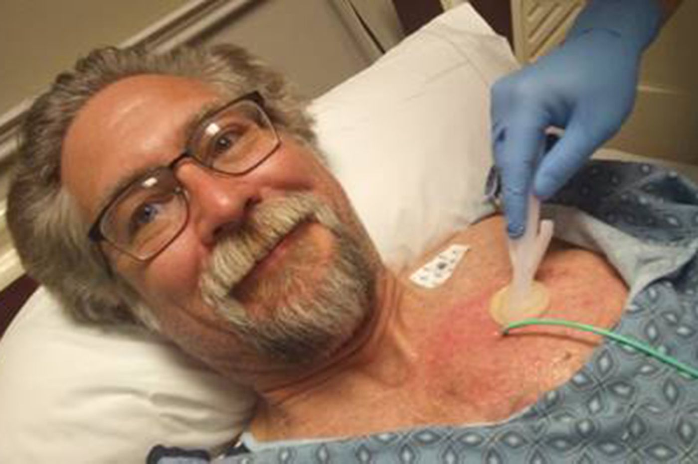 Opioids are the only way he can manage his cancer pain. Stigma creates more problems