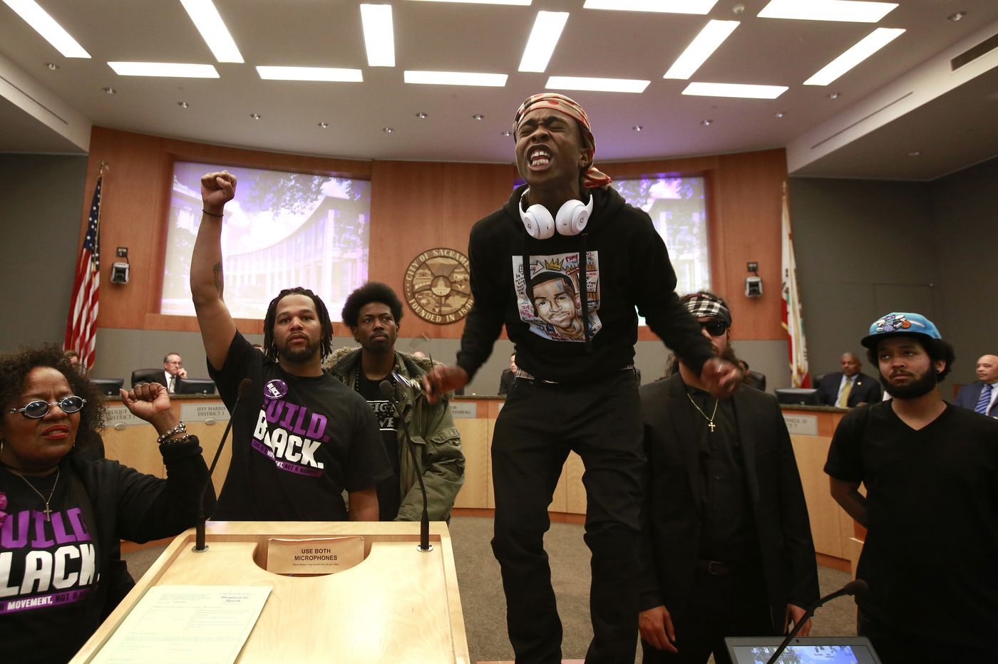 Stephon Clark: Activists focus on California attorney general