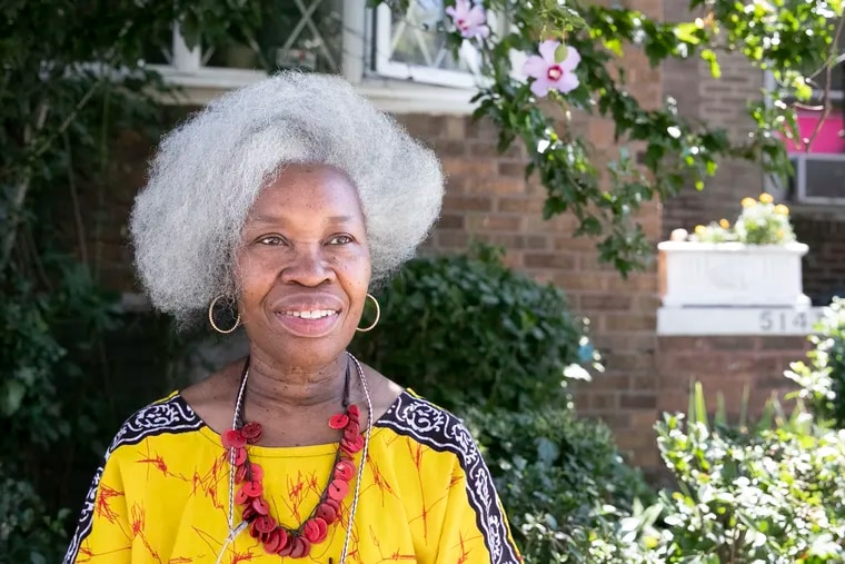 Diane Lackey at her home in North Philadelphia. Black people like Lackey are five times more likely to develop glaucoma.