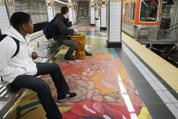 SEPTA's Art in Transit enlivens Philadelphia commute