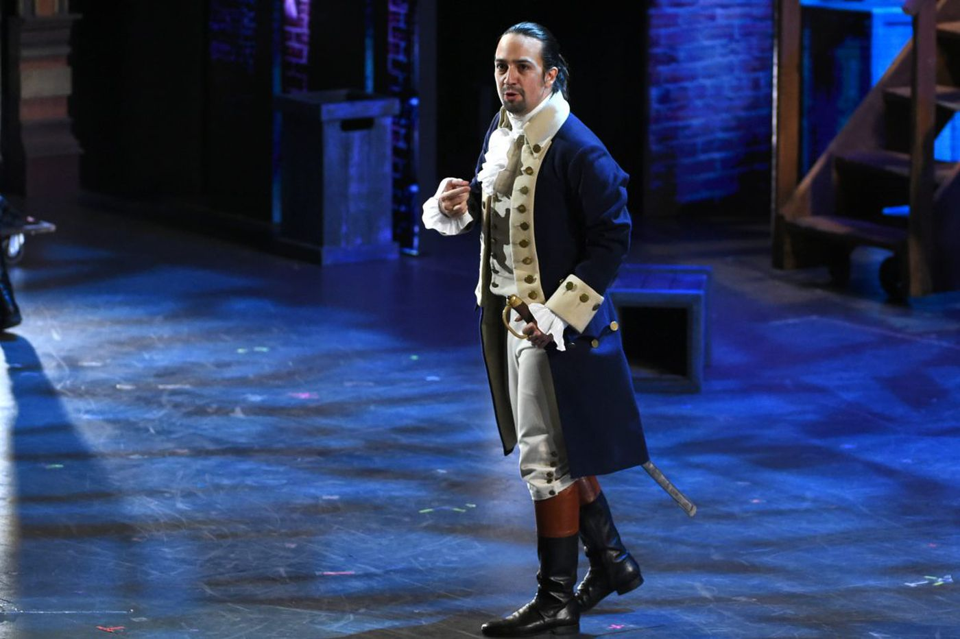 Lin-Manuel Miranda partners with the Decemberists for 'Hamilton' song about Ben Franklin