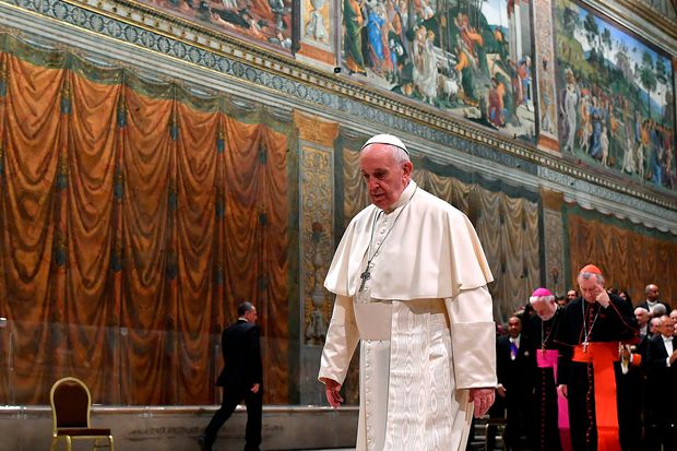 Pope puts Sistine choir under aide's eye after scandal