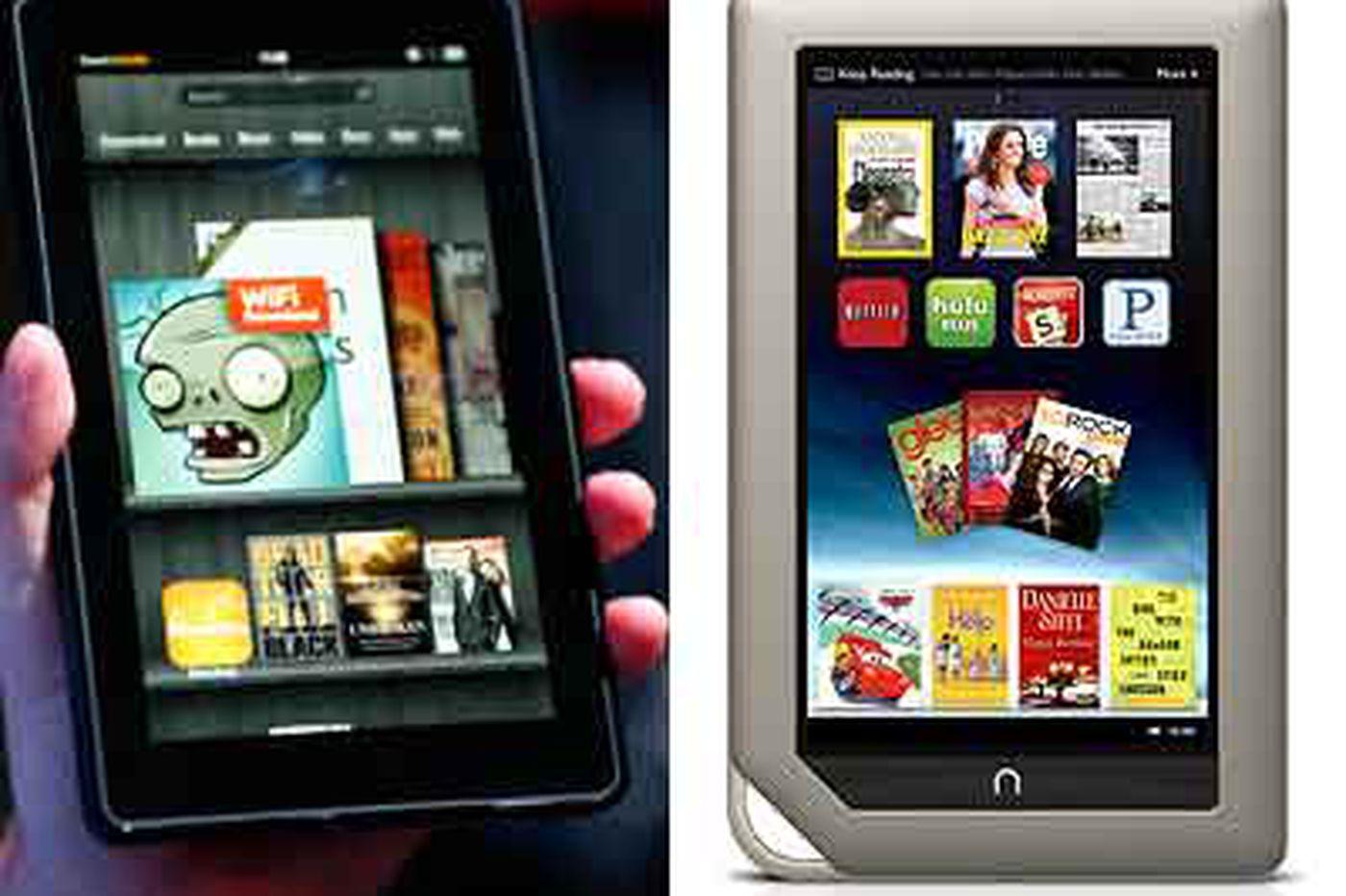 Jeff Gelles: Kindle Fire vs. Nook Tablet: A closer look