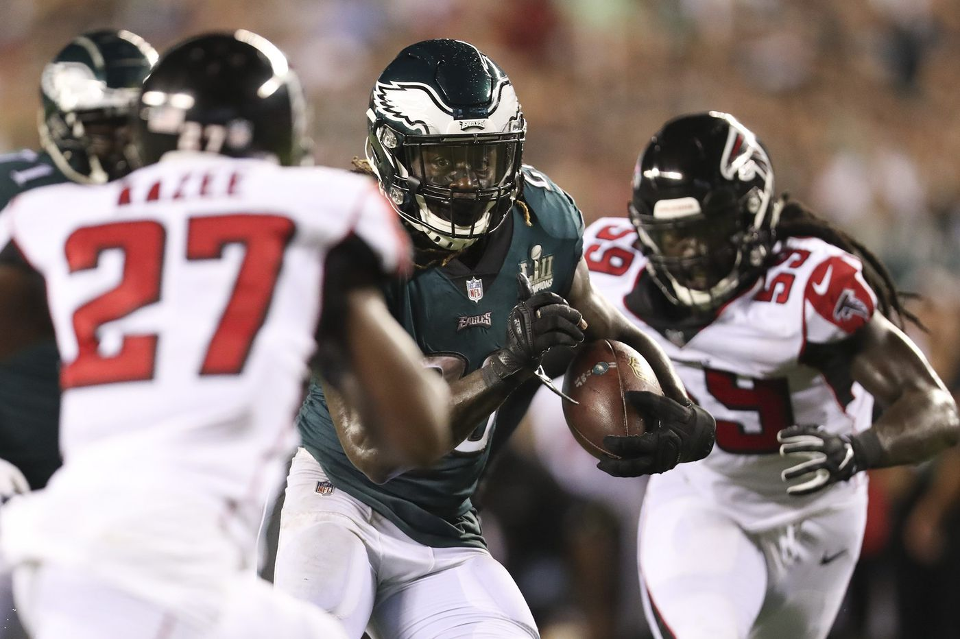Grading the Eagles' season-opening win over the Falcons | Paul Domowitch