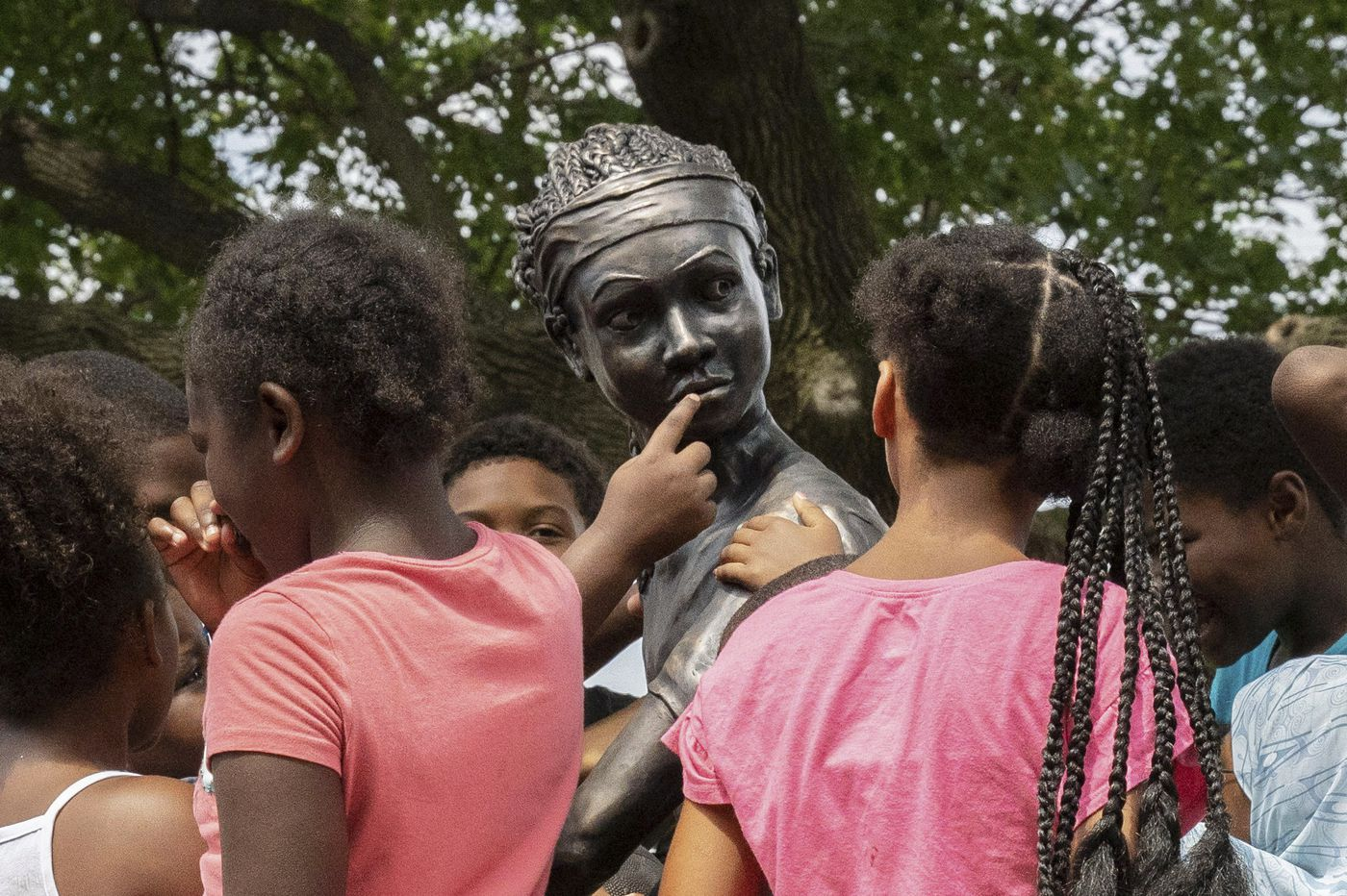 Philly just got its first public statue of an African American girl