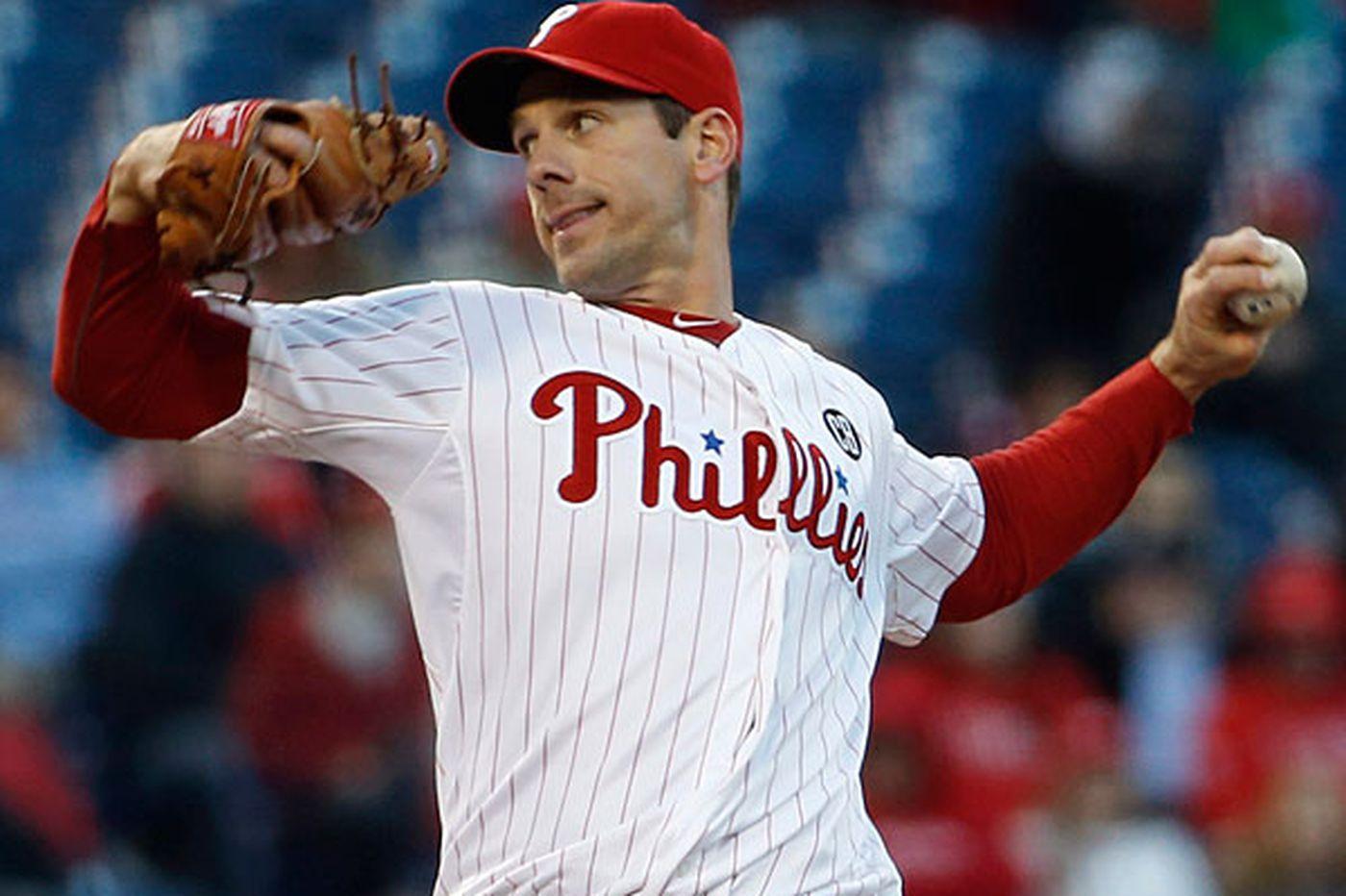 Rain allows Phillies to shuffle rotation