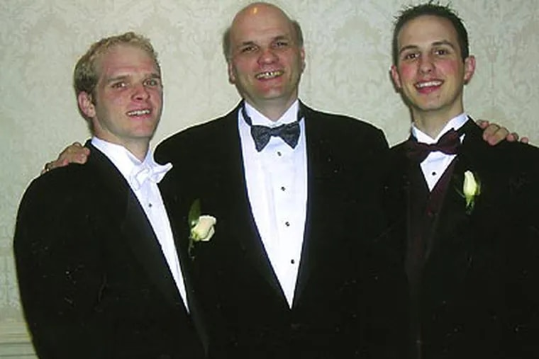 St. Joe's coach Phil Martell's sons, Jimmy and Phil Jr., are also college basketball coaches. (File photo)