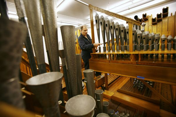 Go inside the Wanamaker Organ, the world's largest playable instrument