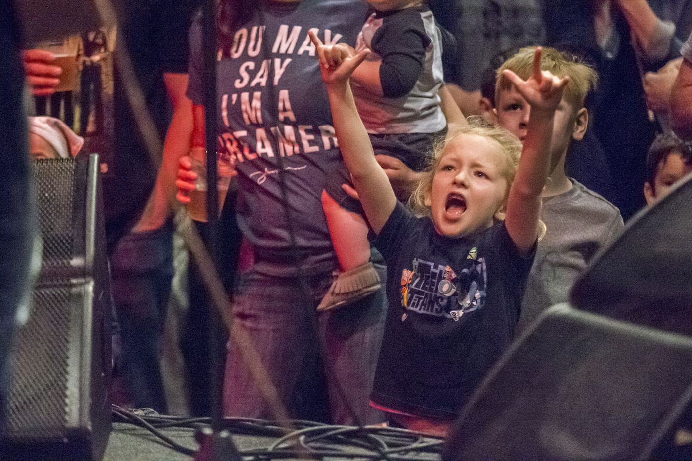 Hopped up on fruit snacks, tiny fans rock out to Grateful Dead, Beatles at concerts for kids