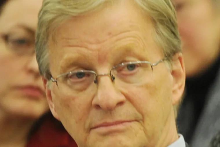Thomas Knudsen at an SRC meeting. (Sarah J. Glover / Staff Photographer)