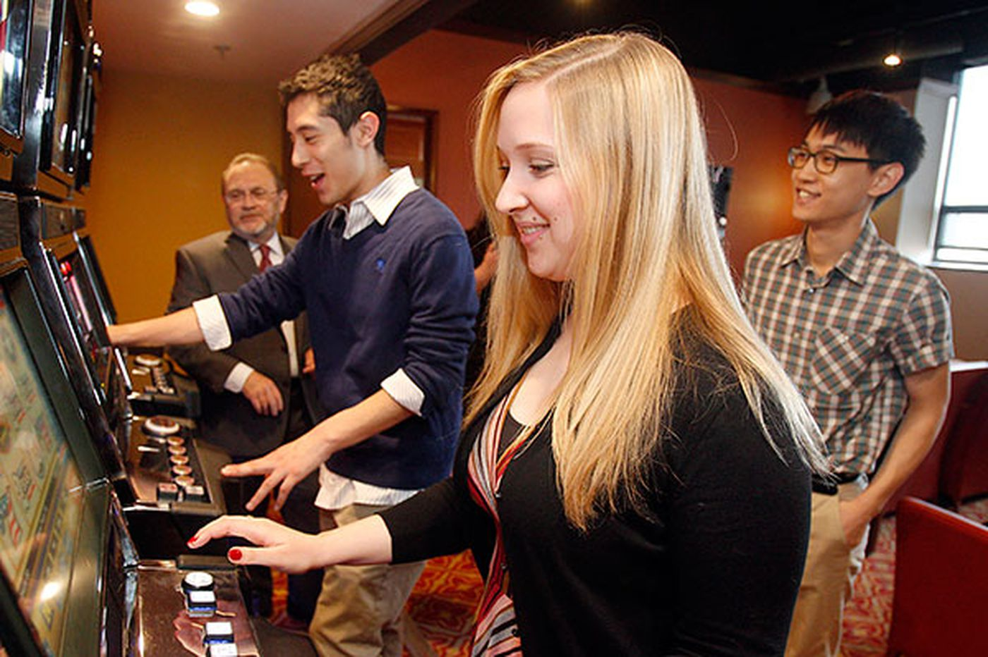 The slots come to Drexel - to teach