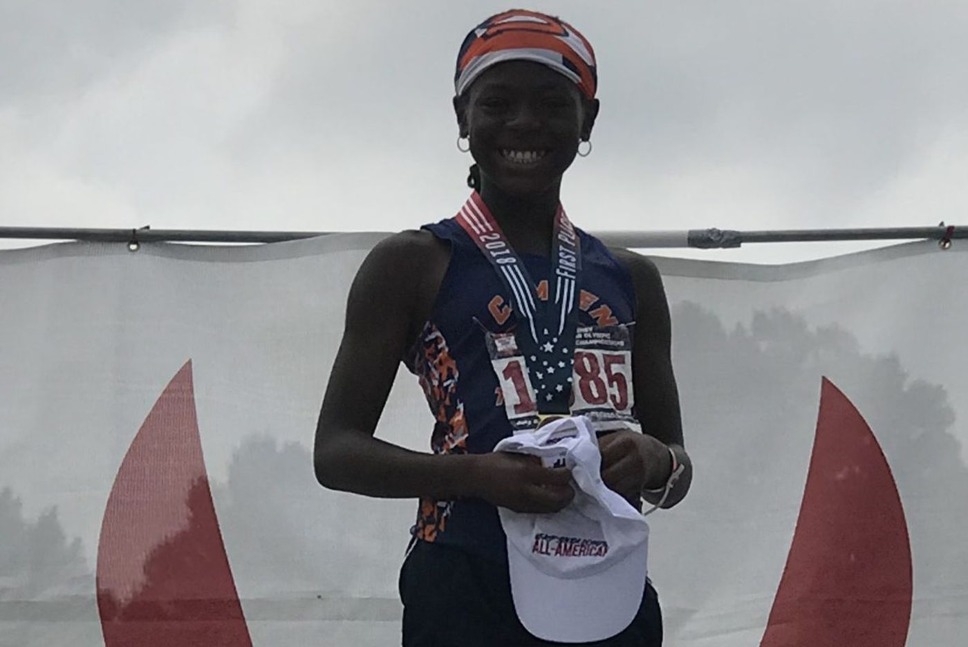 10-year-old Camden runner breaks 24-year-old record at Junior Olympics