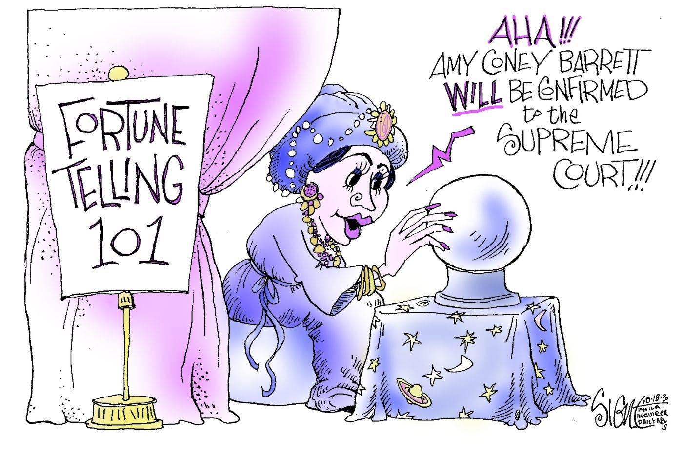 Political Cartoon: Supreme Court charades
