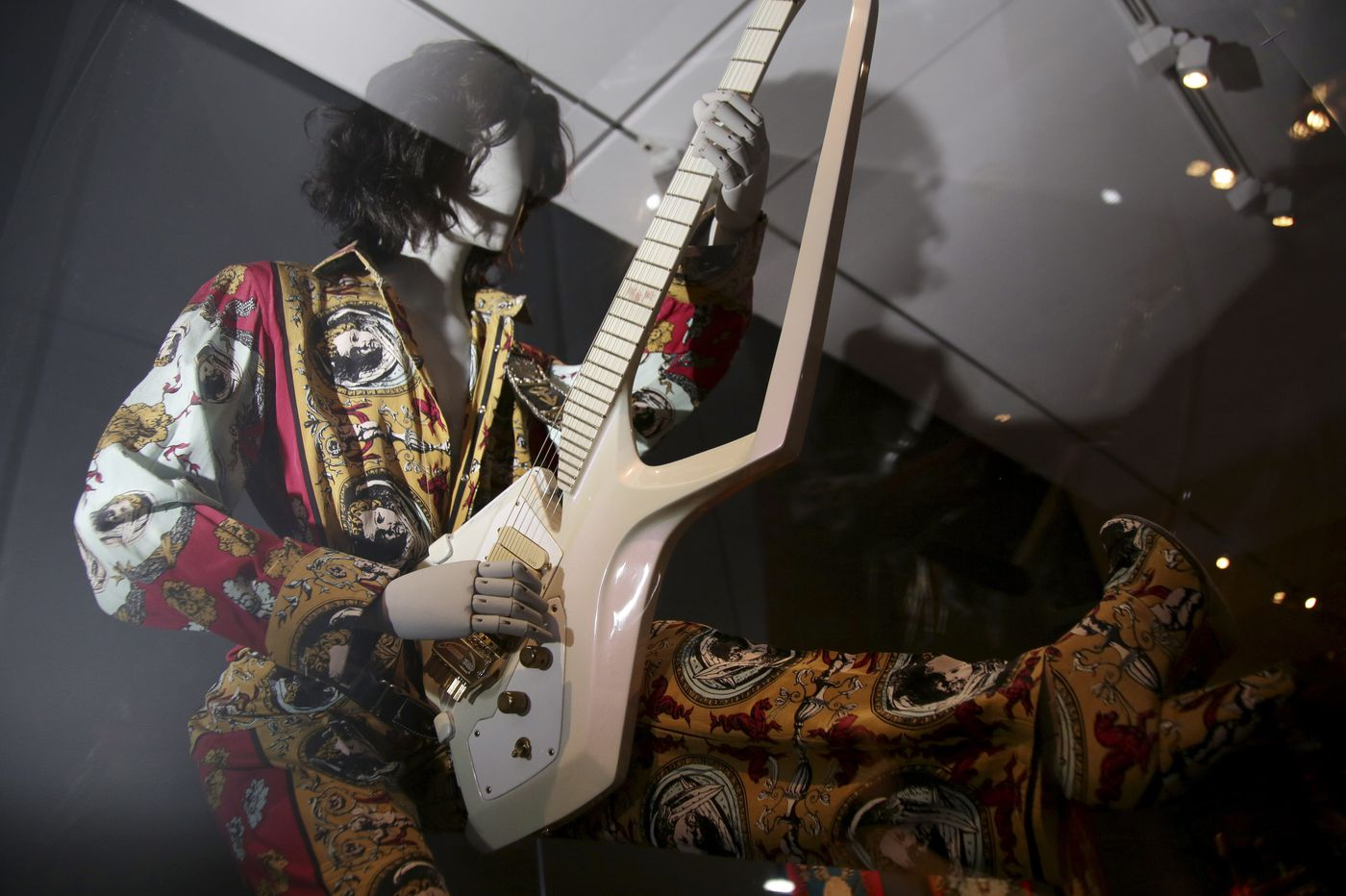 'Play It Loud': Exuberant Met exhibit explores the art of rock-and-roll