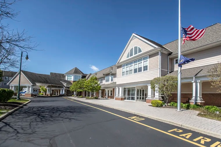 Abramson Senior Care has sold its nursing home in Horsham, but will continue providing community-based services. The nursing home is shown in on April 22, 2020.