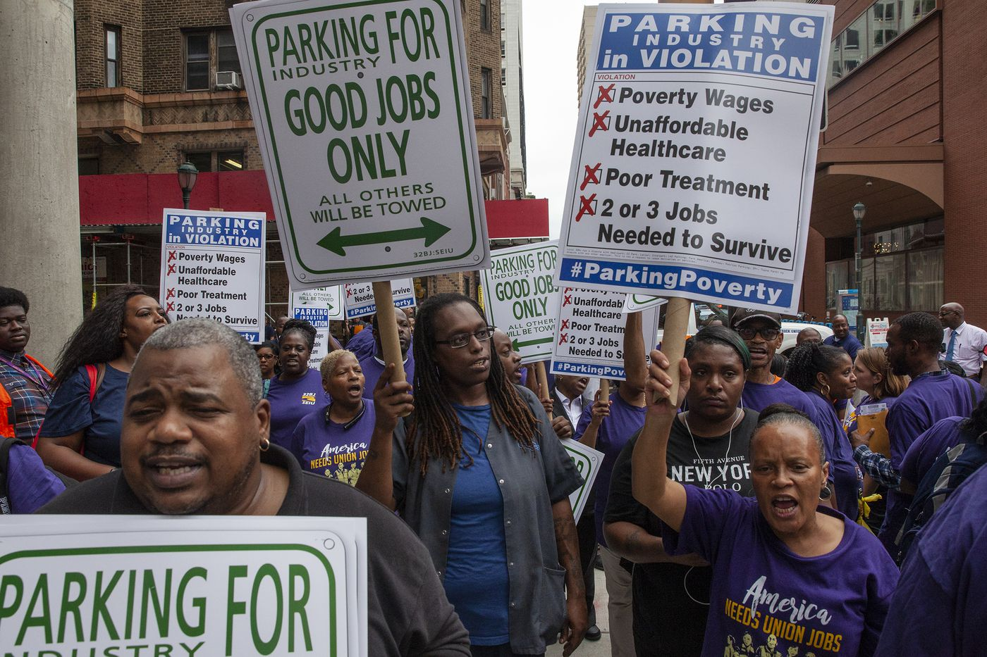 Why parking-lot attendants across Philadelphia have launched a campaign to unionize