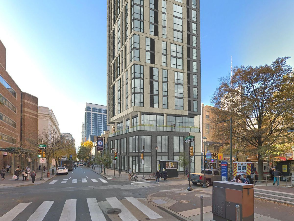 Here's a first look at the short-stay tower planned at Center City Wendy's site