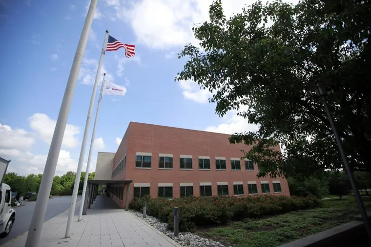 A building at the Vanguard Group's complex in Malvern.