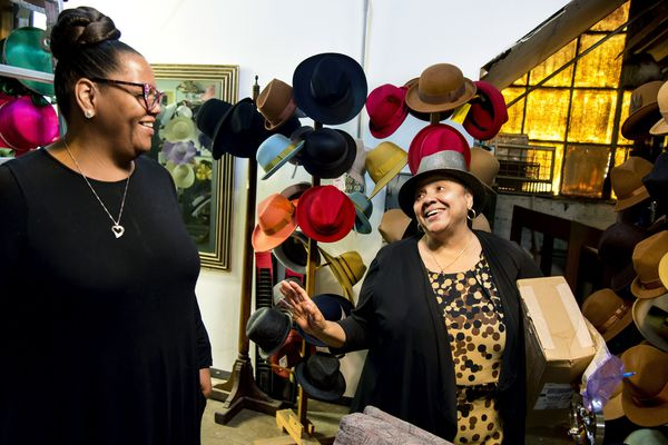 How a historic Philly hat factory was rescued by this 70-year-old cancer survivor from Harlem