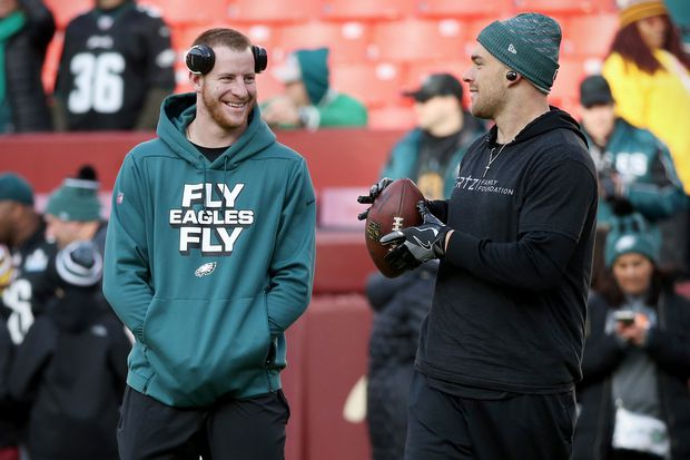 Like Carson Wentz, Howie Roseman won't get specific about how the Eagles ended up without their QB yet again