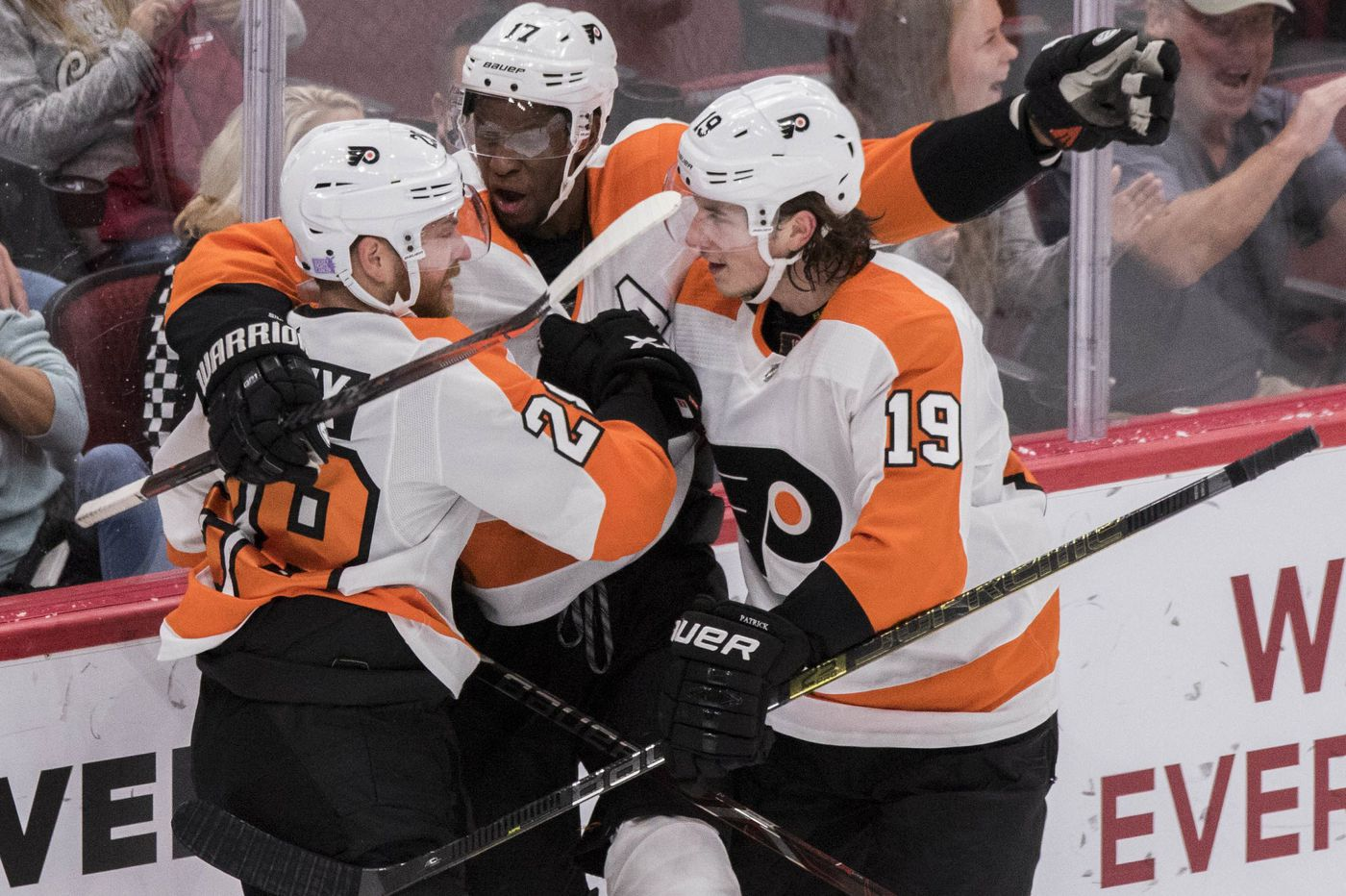 Five observations from Flyers' impressive road trip: Balanced lines, gritty play from Folin, Pickard saves the day