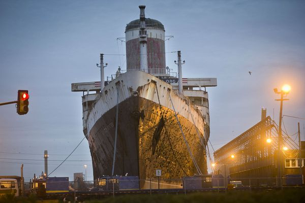 Can the SS United States again sail the seas?