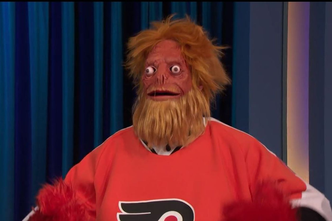 Gritty revealed as actual monster in 'Conan' interview