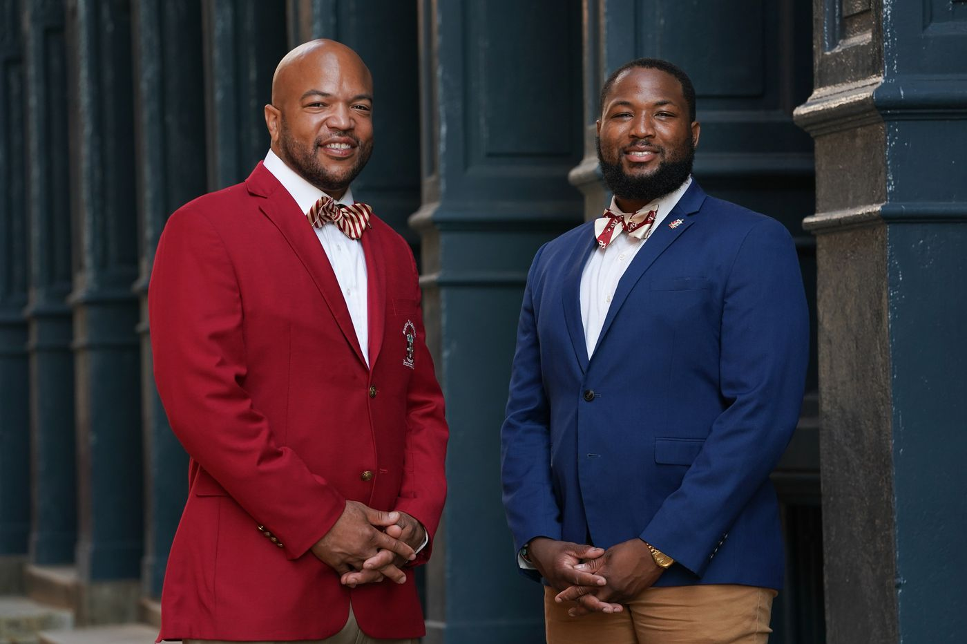 10,000 Kappas are in Philadelphia. Here's why you're seeing all these crimson and cream bow ties. | Elizabeth