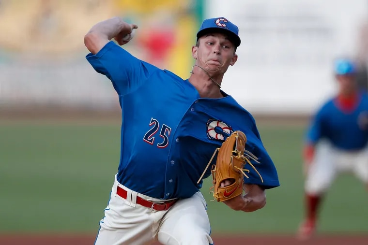 The Phillies need 19-year-old Mick Abel to become an ace. He reminds one scout of 'young Roy Halladay.'