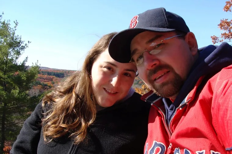 Bryna Siegel Finer and her husband, David, in Vermont.