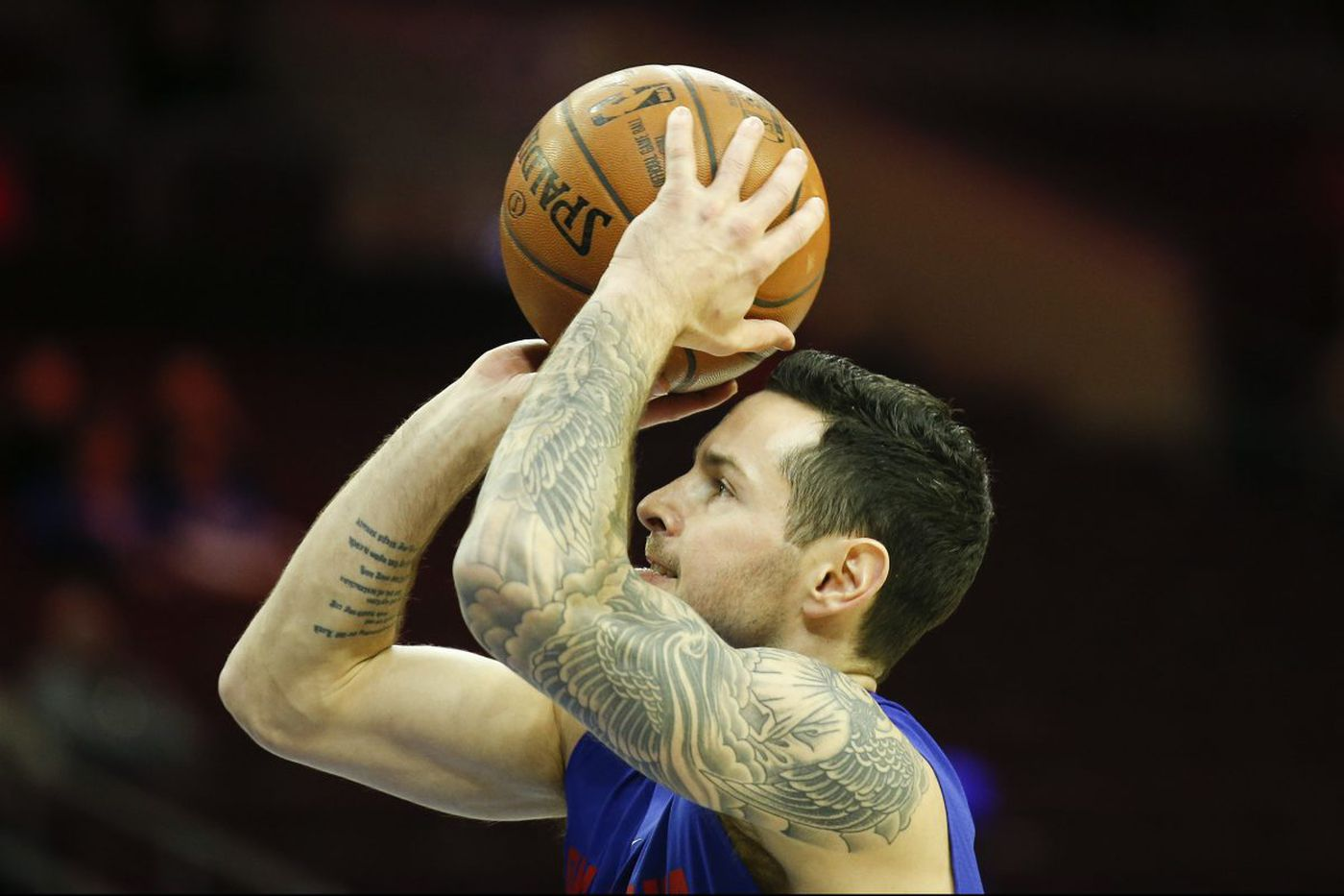 Sixers' JJ Redick calls media coverage of Markelle Fultz's shooting 'obsessive'