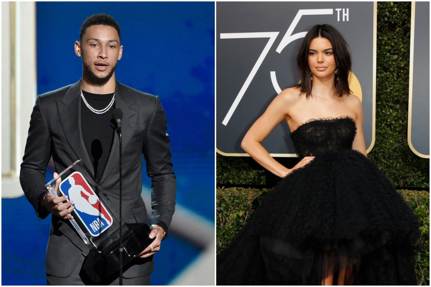 Sixers' Ben Simmons spotted hanging with Kendall Jenner in Philly
