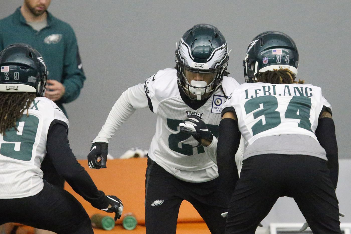 Doug Pederson on unknown at middle linebacker, Eagles to watch this spring, where Avonte Maddox will play