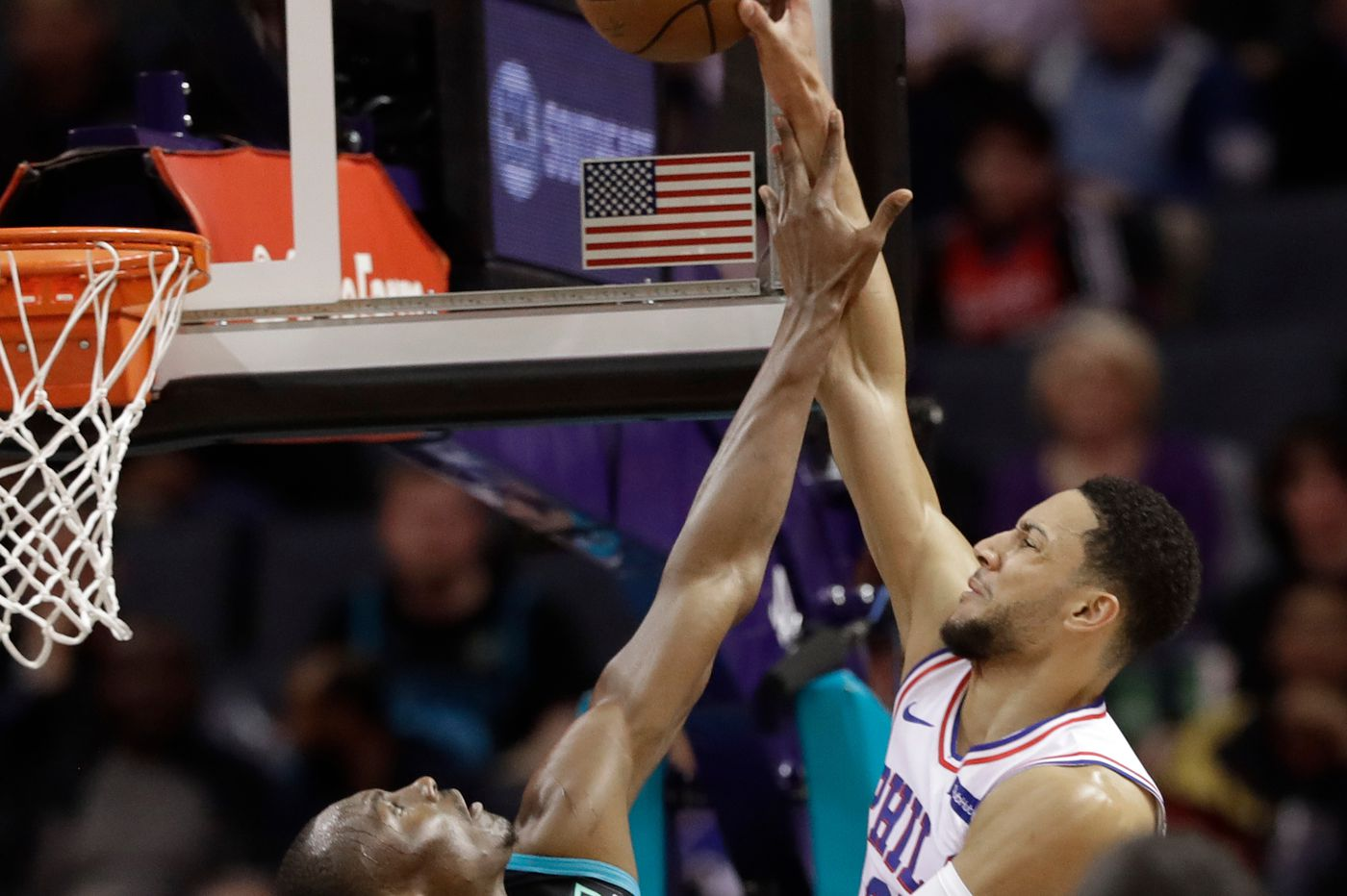 Sixers escape Charlotte with win over Hornets, turn attention to showdown vs. Celtics