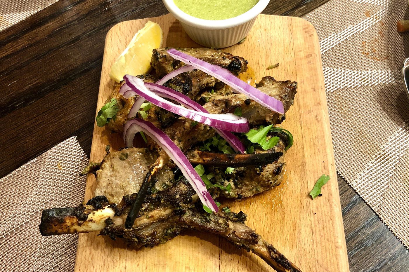 Good Taste: Incredible Indian lamb chops straight from the tandoor