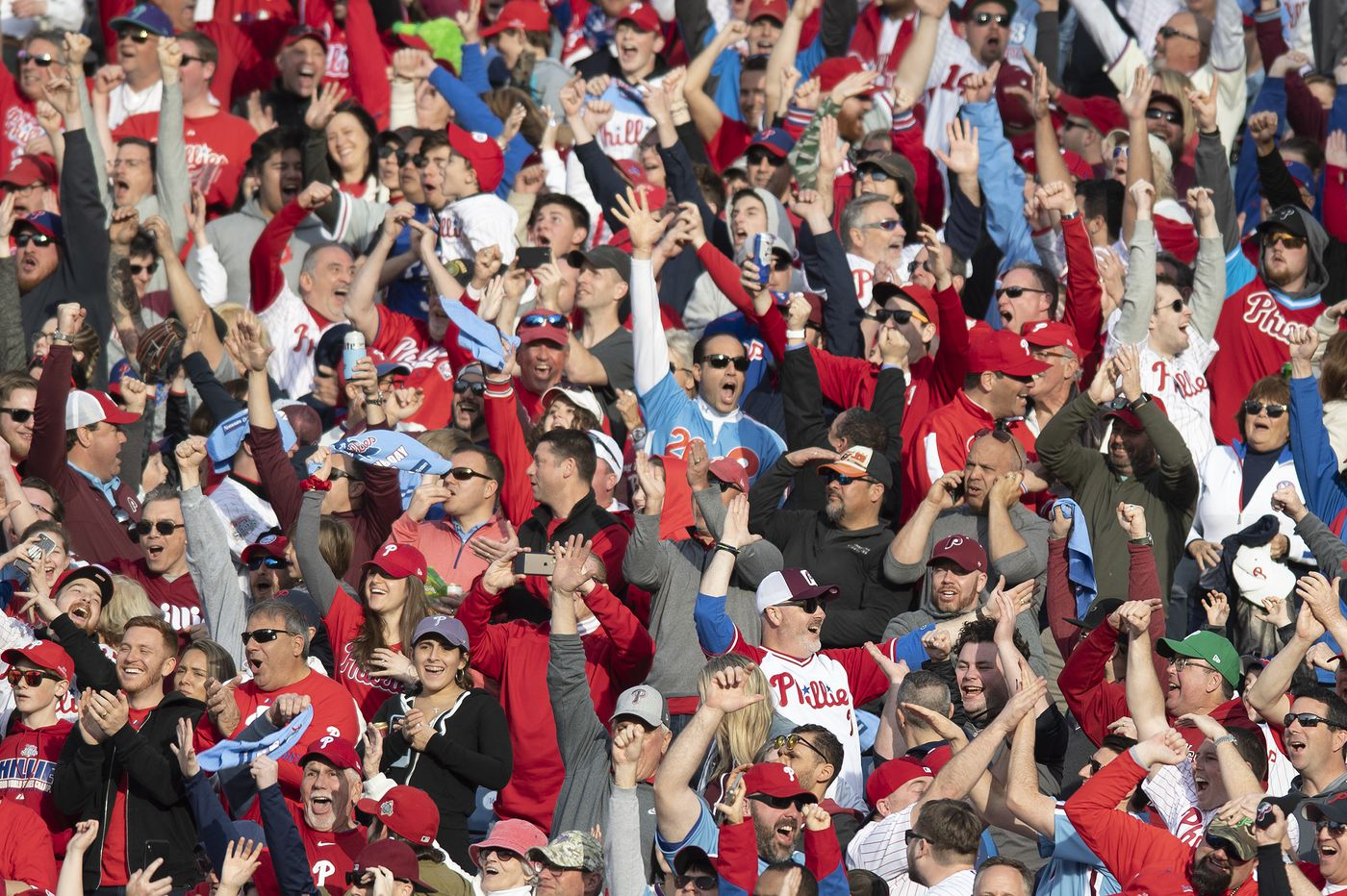 Phillies have fourth-highest attendance through first month of season