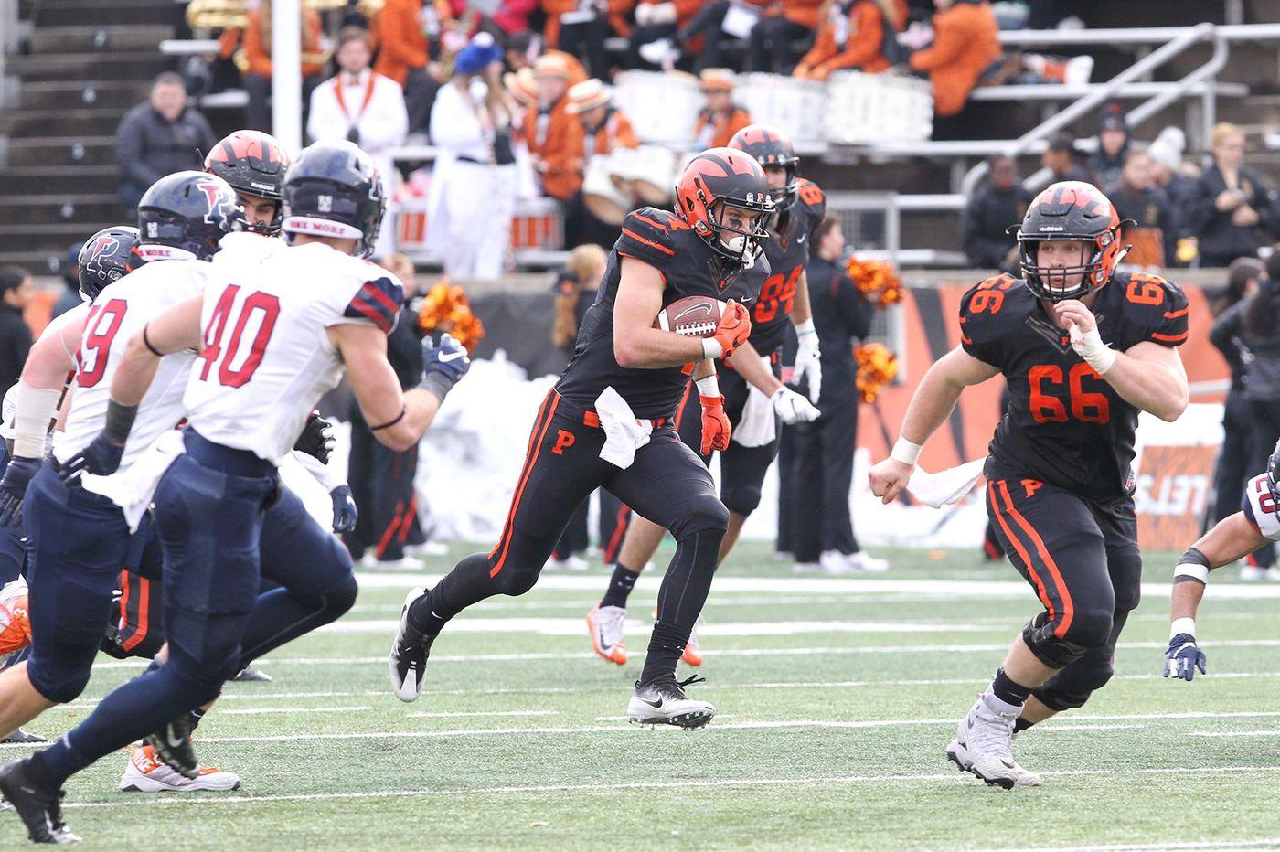 Penn football season ends with 42-14 loss to Ivy League champion Princeton