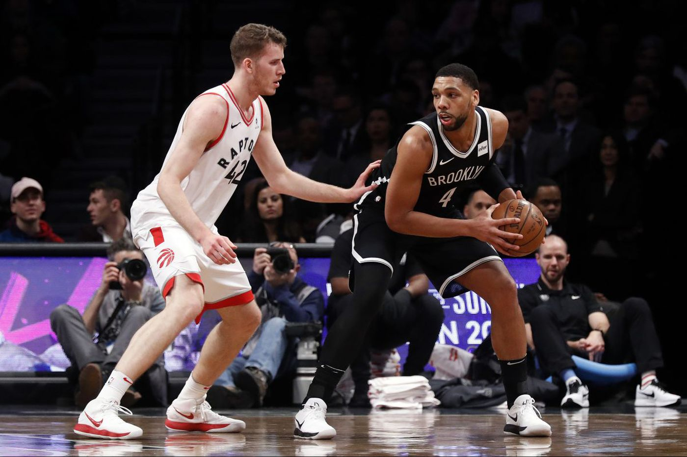 Sixers will face pals Okafor, Stauskas for first time since trade to Nets